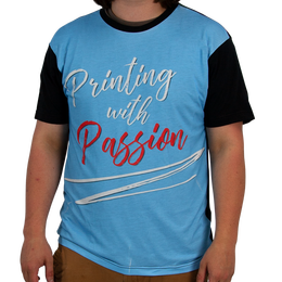 Sublimation Panel T-Shirts
