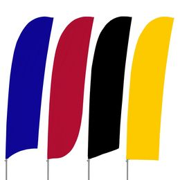 Stock Color Feather Flag Set