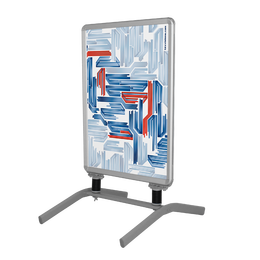 """Snap Frame with Metal Base 33.1"""" x 46.8"""""""