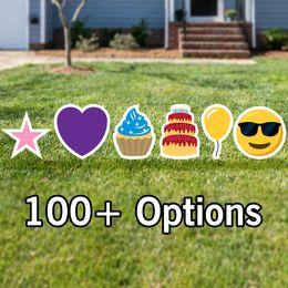 Emoji Yard Signs