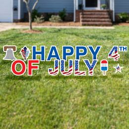 Happy 4th of July Yard Cards