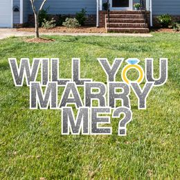 Will You Marry Me Yard Signs