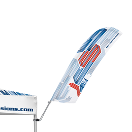 Advertising Tent Feather Flag 30°