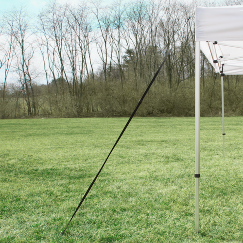Stake Kit provides security to tents and is recommended with every set up.