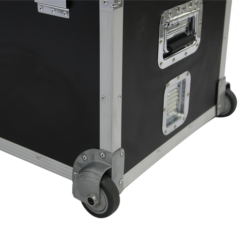 Thick, lockable case keeps items safe