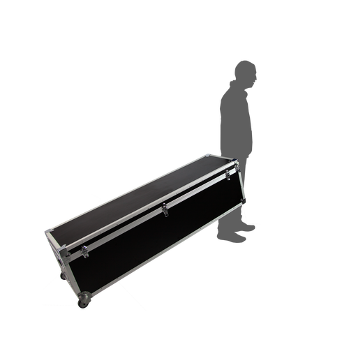 Transportable with a handle on the end