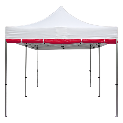Shown here is one of our stock color canopies