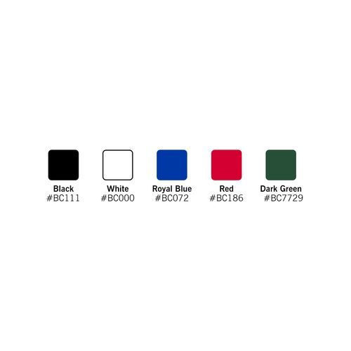 Your customers can choose from several stock colors
