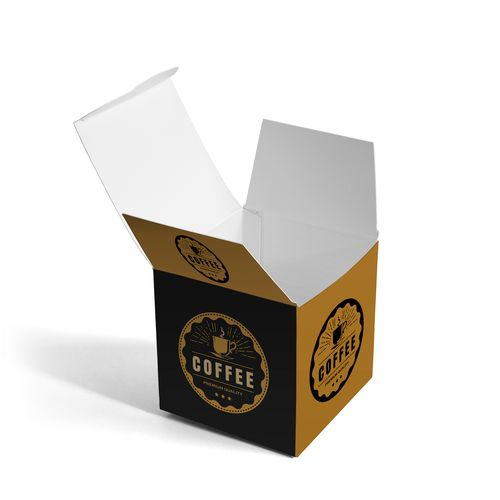 Custom designed box is sure to leave an impression