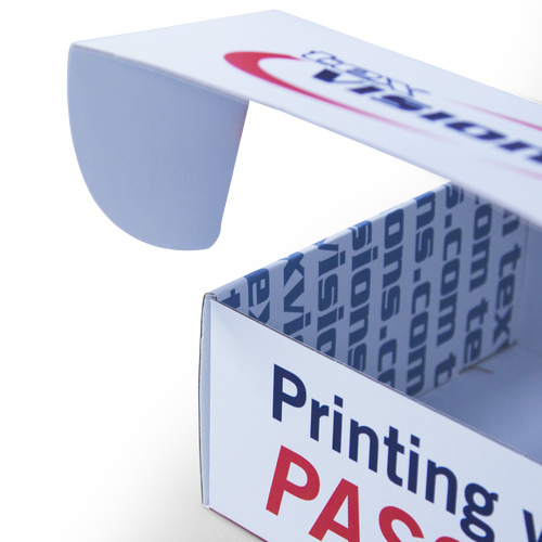 Front flaps shut mailers securely, adding a branded sticker will prevent unauthorized opening