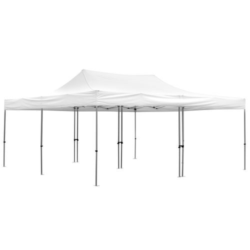 Advertising Tent 20' x 20 with white canopy and optional walls