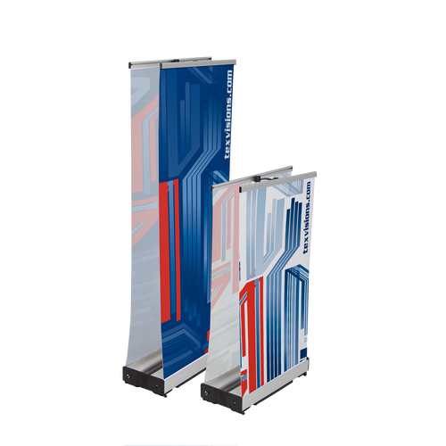 Use to create double-sided displays for any of our Roll Up Standard sizes