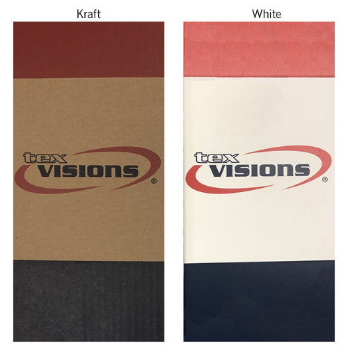Comparison between Kraft and White Cardboard
