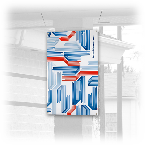 Banners are made for indoor and outdoor use