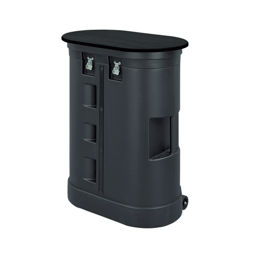 The Hard Travel Case offers room for displays and accessories including the Pop Up and Pop Up lights