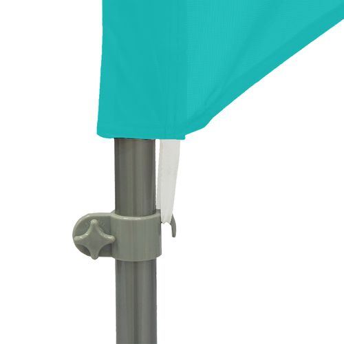 Connects to pole set with bungee