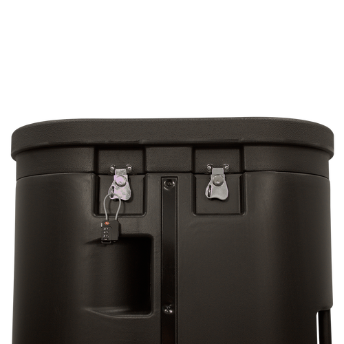 Add locks to the Hard Travel Case for more security of your customer's property