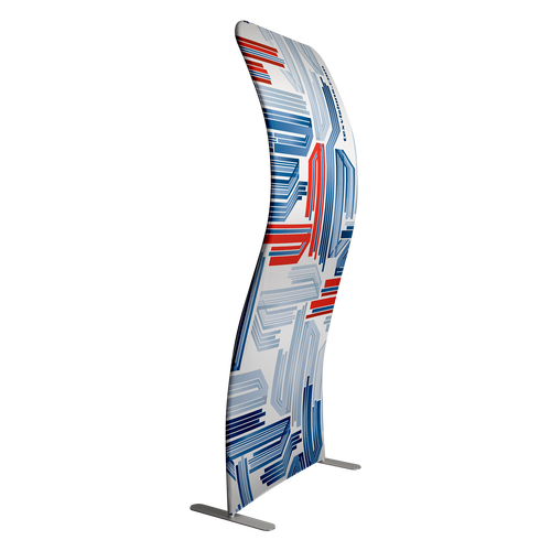 Arched Tension Fabric Display