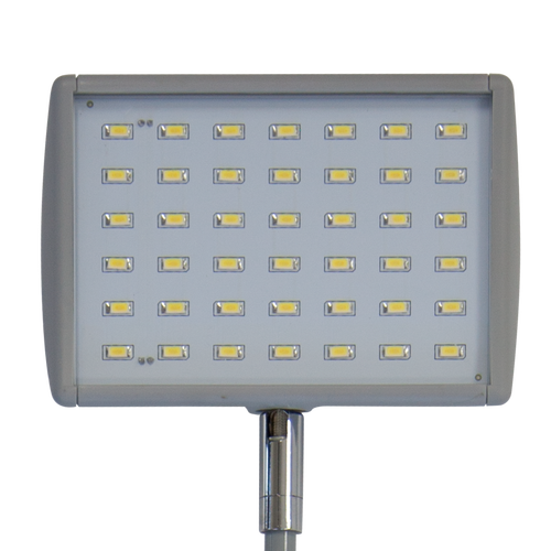 LED lights are energy efficient, last longer and are the only lights allowed at certain trade shows