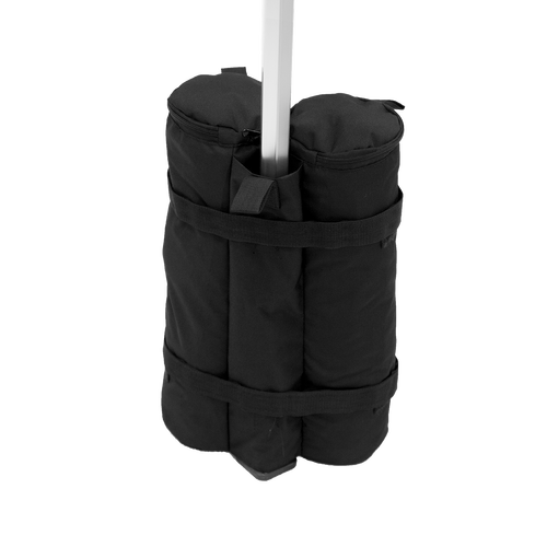 Clasps firmly around tent leg and adds an additional 50lb of support to tent frame